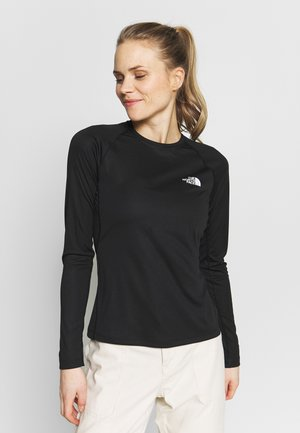 WOMENS FLEX - Sports shirt - black
