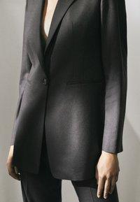 Massimo Dutti - LIMITED EDITION - Blazer - blue-grey/dark grey - 3