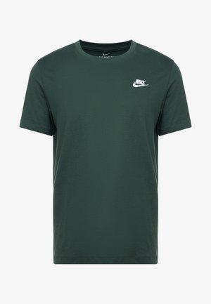 CLUB TEE - T-shirt basic - galactic jade/white