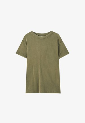 Basic T-shirt - light brown