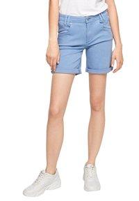 s.Oliver - Denim shorts - blue - 4