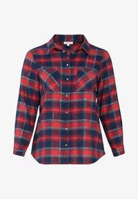 Paprika - Button-down blouse - red - 4