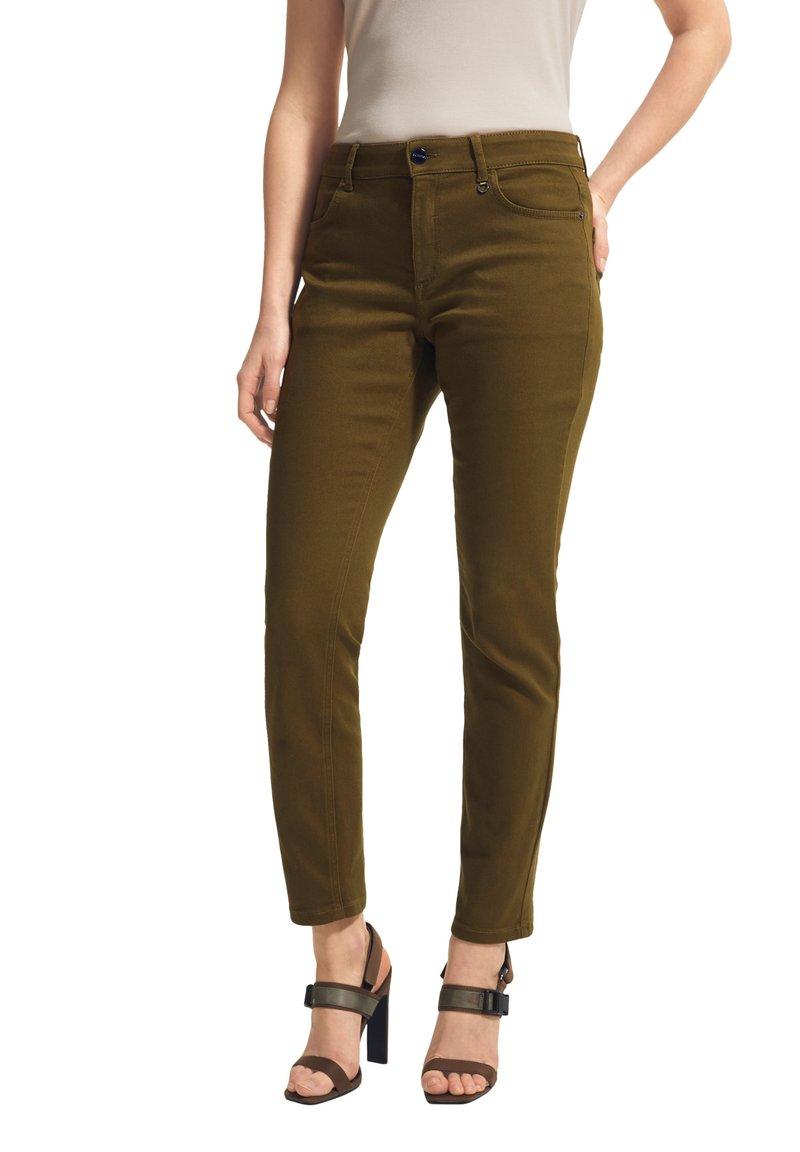 comma - Slim fit jeans - dark green