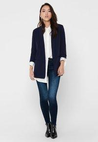 ONLY - ONLELLY  LIFE  - Krátký kabát - evening blue - 1