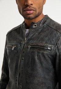 Carlo Colucci - Leather jacket - grey - 3