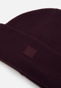 Knowledge Cotton Apparel - LEAF BEANIE UNISEX - Čepice - bordaux - 2