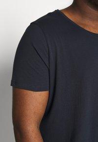 Lee - SHAPED TEE - T-shirt basique - sky captain - 4