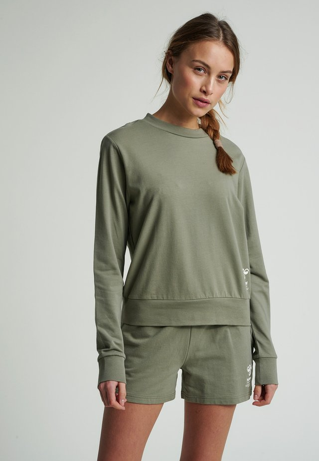 Sweatshirt - vetiver