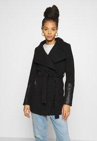 Vero Moda - VMCALA JACKET - Classic coat - black - 0