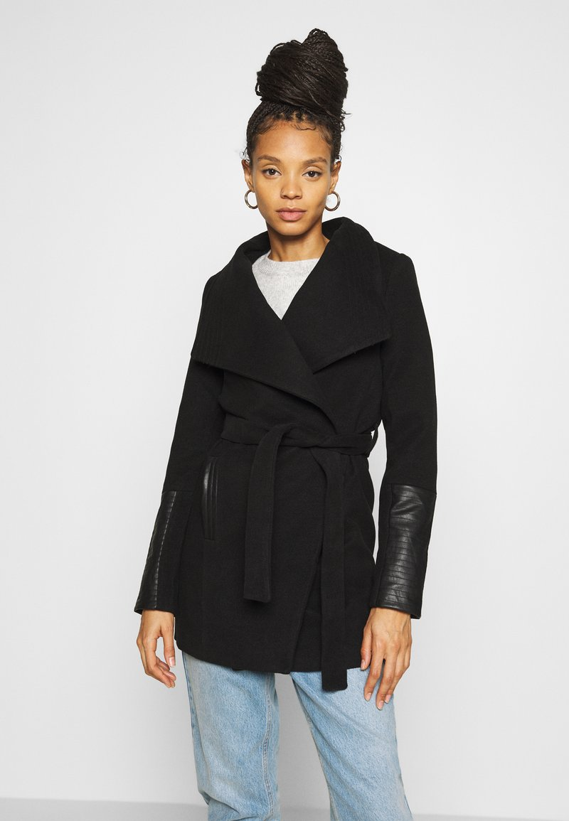 Vero Moda - VMCALA JACKET - Classic coat - black