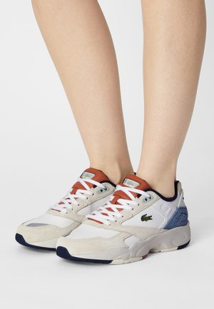 STORM  - Trainers - off white/blue