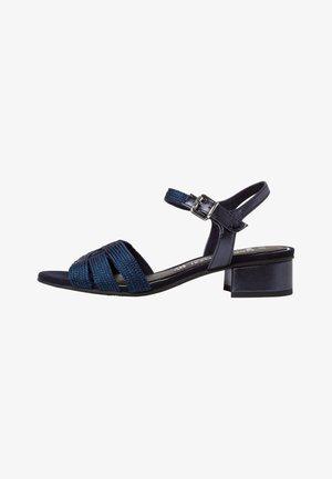 Sandaler - navy metallic