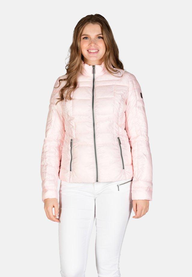 Winter jacket - light rose