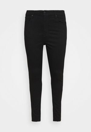 PLUS MILE HIGH SS - Jeans Skinny Fit - black galaxy