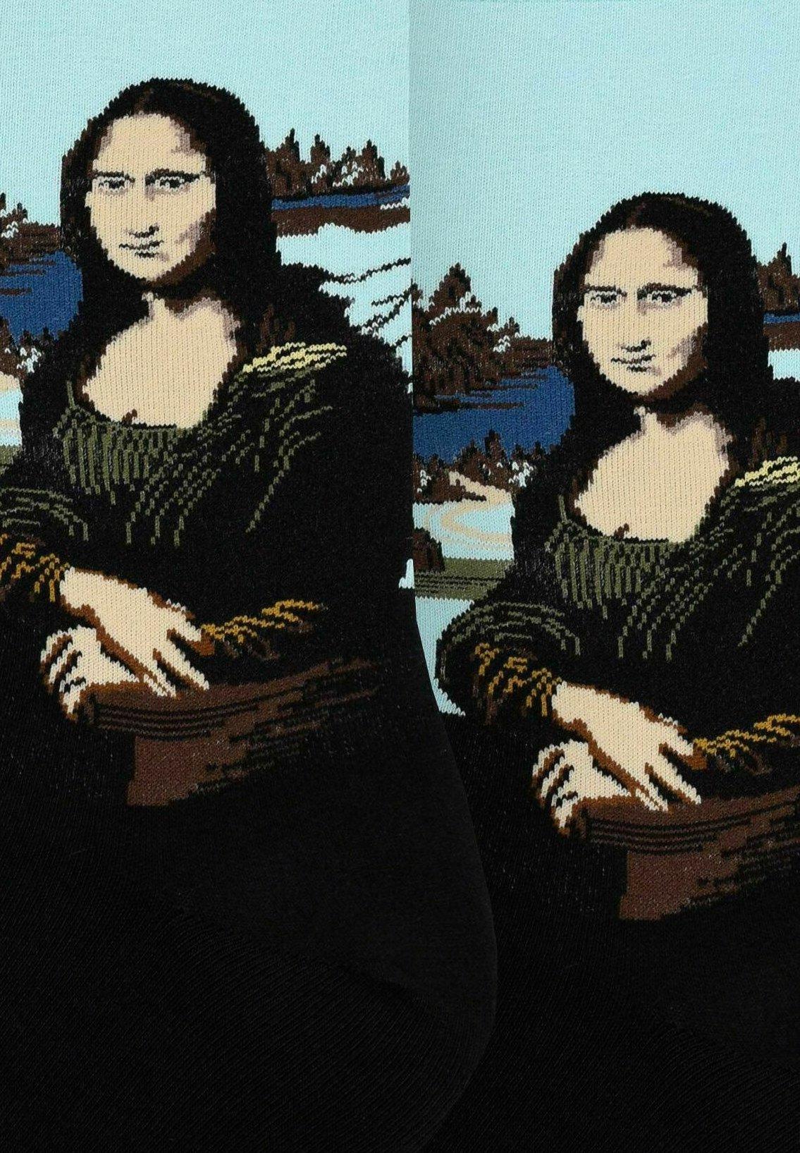 Femme LEONARDO DA VINCI: MONA LISA - Chaussettes
