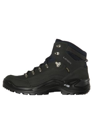 "LOWA HERREN TREKKINGSCHUHE ""RENEGADE GTX MID S"" - SCHMALE LEISTE - Hiking shoes - charcoal"