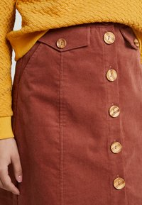 Louche - NEOLA - A-line skirt - dark peach - 4