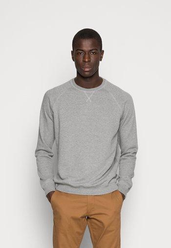 2 PACK - Felpa - mottled light grey/black