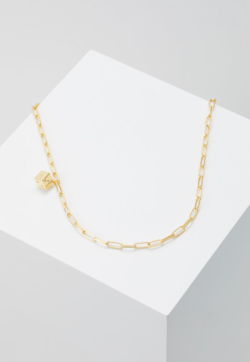 PDPAOLA - PLAYER NECKLACE - Necklace - gold-coloured