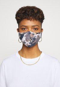 Even&Odd - 3 PACK - Látková maska - off-white/multi/black - 0