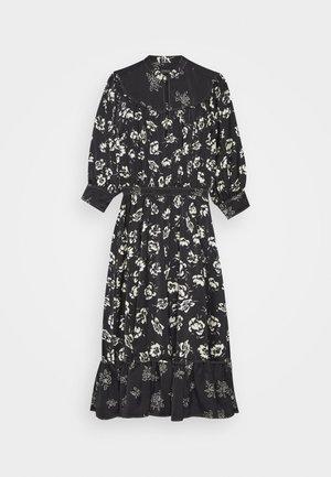 CASUAL DRESS - Vestido informal - black/white