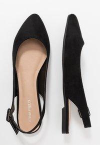 Anna Field - Slingback ballet pumps - black - 3