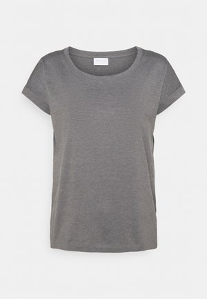 VIDREAMERS PURE - T-shirts - medium grey melange