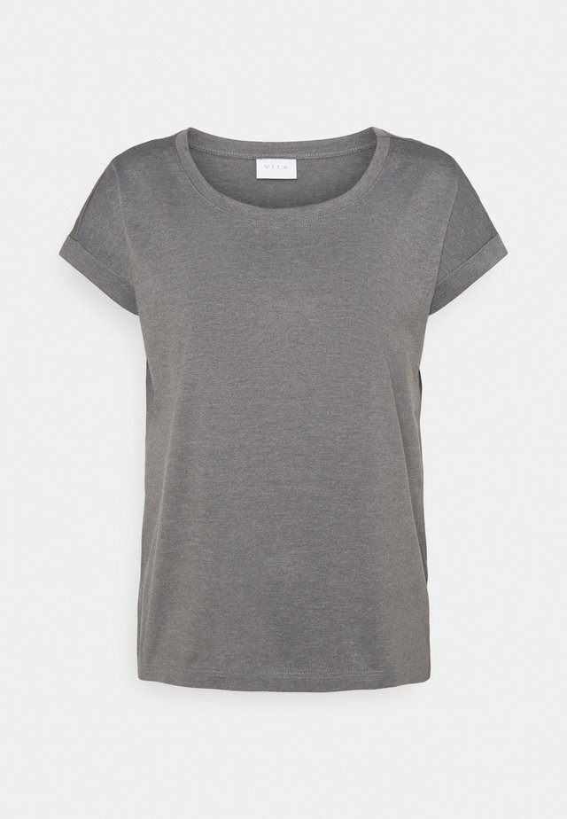 VIDREAMERS PURE - Basic T-shirt - medium grey melange