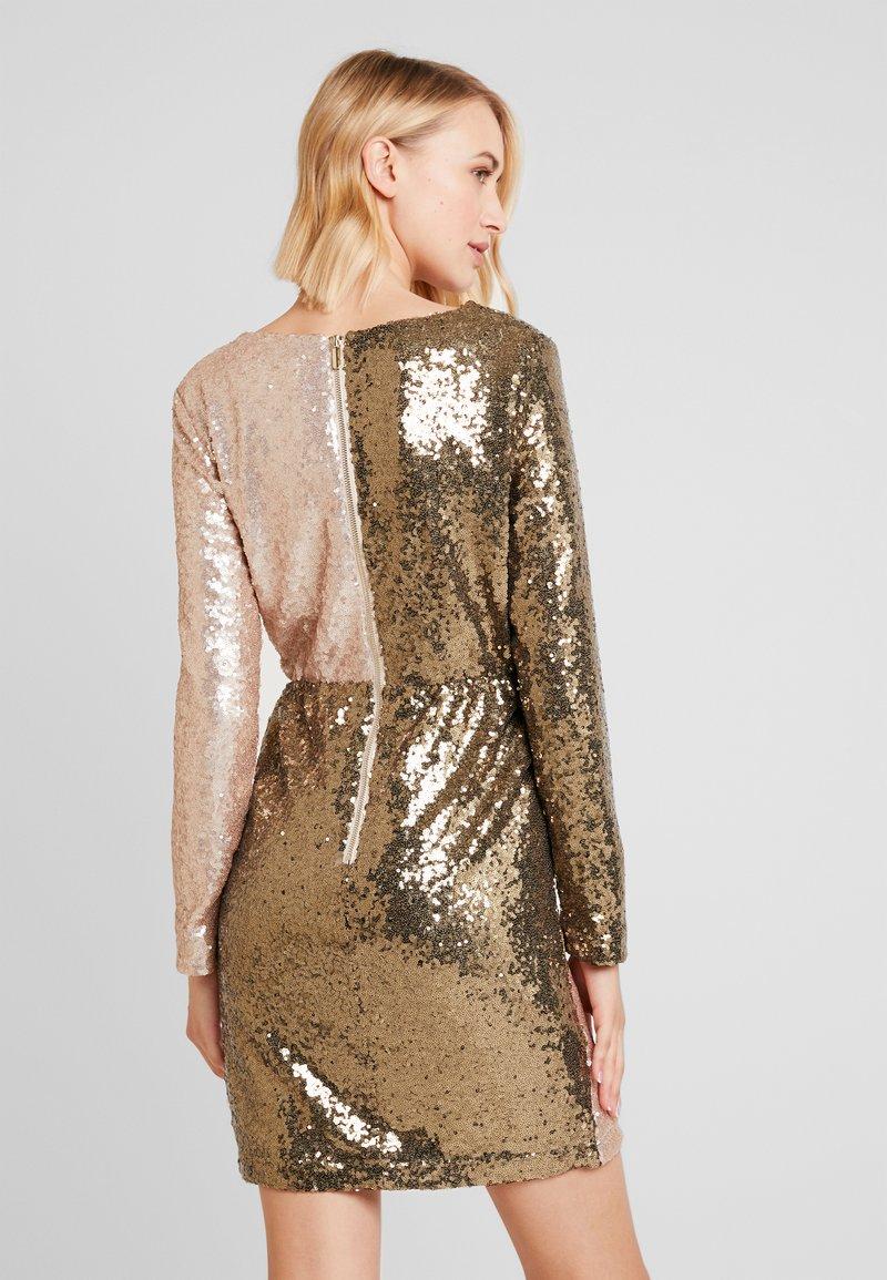 Sequin Dress Khaki