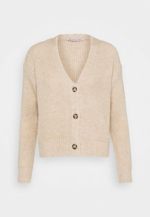 SOFT CARDIGAN - Cardigan - beige