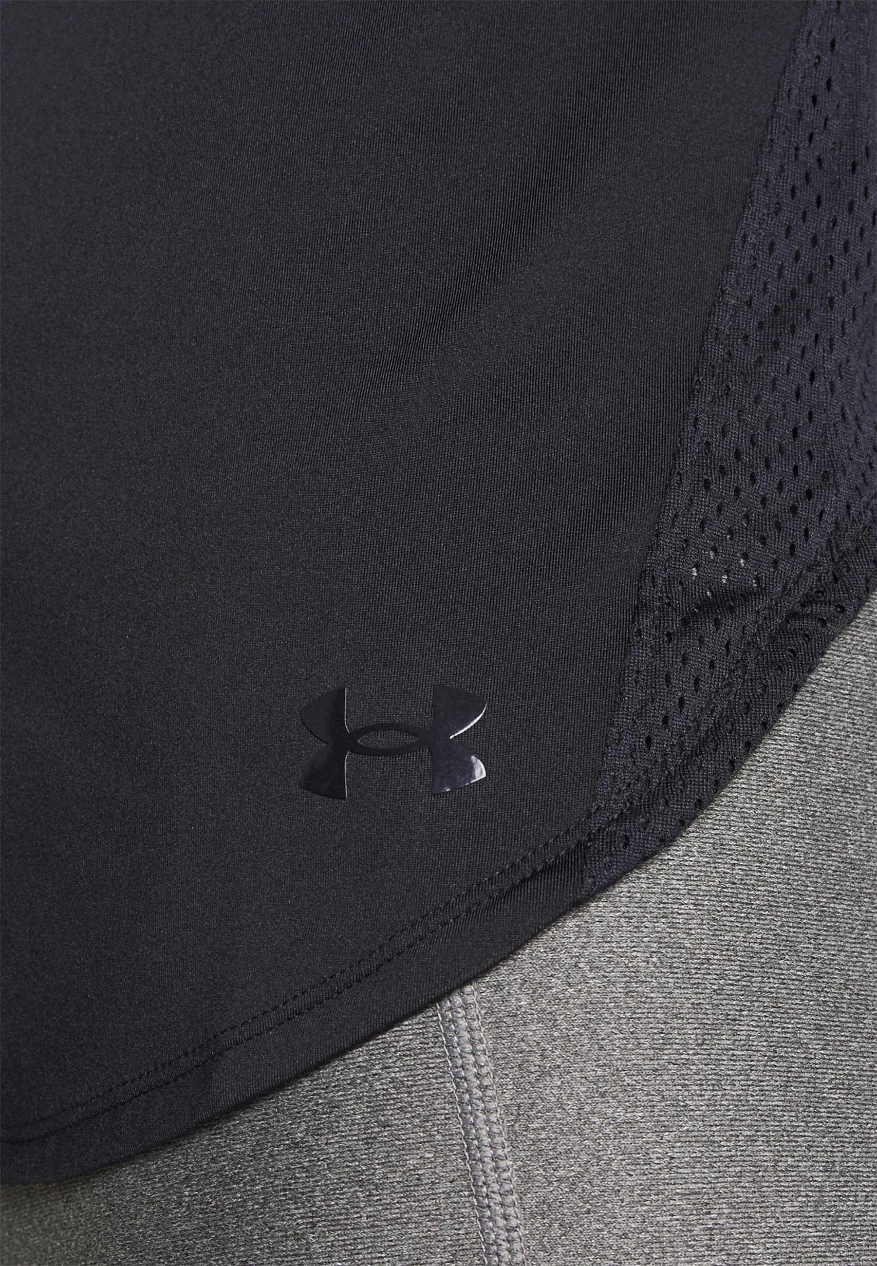 Under Armour SPORT HI LO  - Basic T-shirt - black IdaKA
