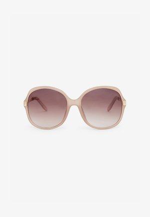 OVERSIZED  - Sunglasses - nude