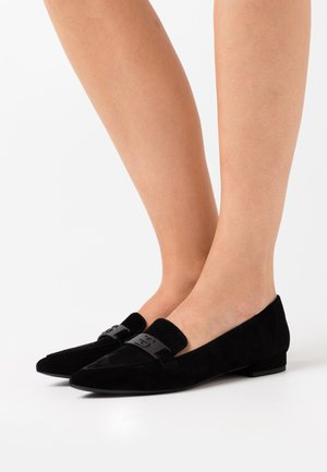 LISBOA LOAFER - Slip-ons - black