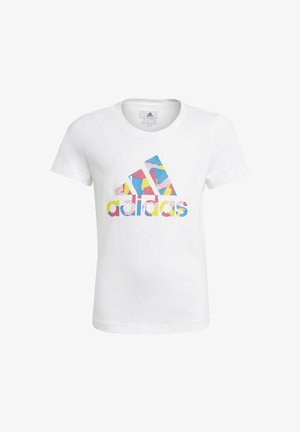LEGO BADGE OF SPORT GRAPHIC - Print T-shirt - white