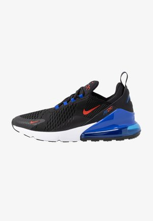 AIR MAX 270 ESS - Matalavartiset tennarit - black/chile red/hyper royal/white