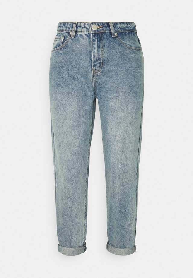LADIES - Relaxed fit jeans - mid stone