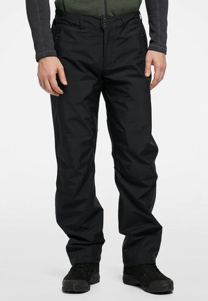 HARDSHELLHOSE ASTRAL  - Outdoor trousers - true black long