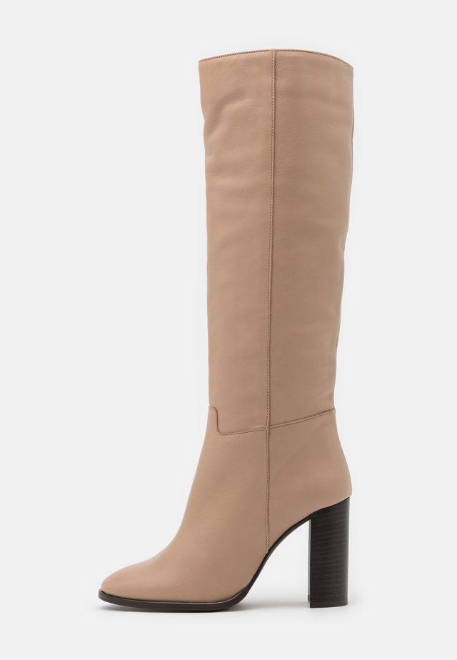 High heeled boots - volga topo