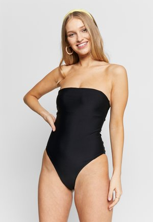 YASTROPICA SOLID SWIMSUIT - Plavky - black