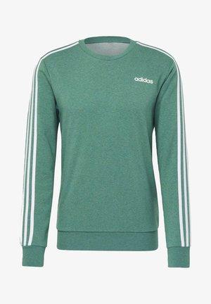 ESSENTIALS 3-STRIPES SWEATSHIRT - Sweatshirt - green
