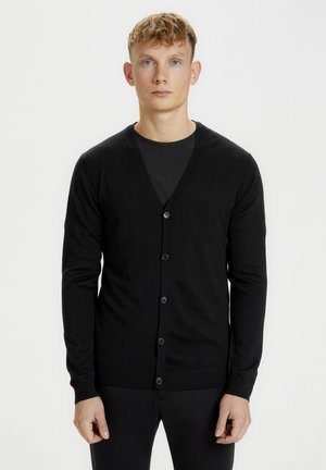 JAMBON  - Cardigan - black
