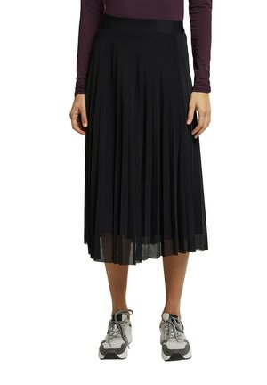 REYCELT - A-line skirt - black