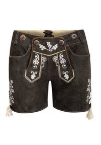 Almsach - Leather trousers - schwarz - 2
