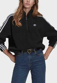 adidas Originals - FLEECE HZ - Sweat polaire - black - 3