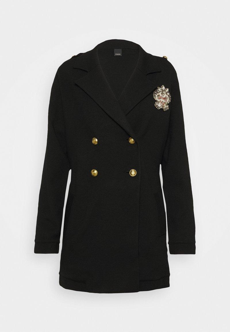 Pinko - BOSNIA CAPOTTO - Classic coat - black