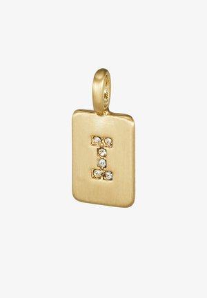 PENDANT LETTER - Ciondolo - gold-coloured
