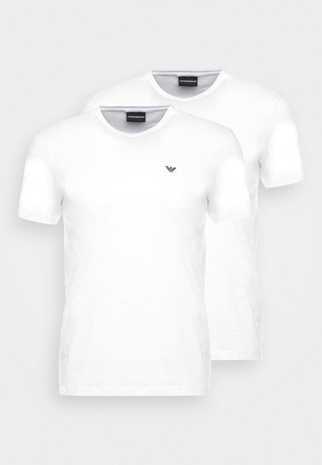 2 PACK - T-shirt basic - white