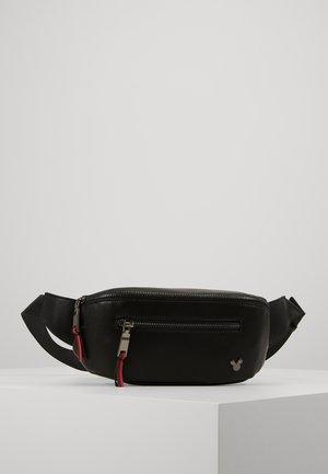 FANNY MICKEY - Bum bag - jet black/gunmetal