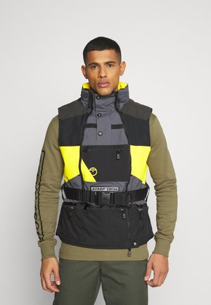 STEEP TECH APOGEE VEST - Kamizelka - lightning yellow/black