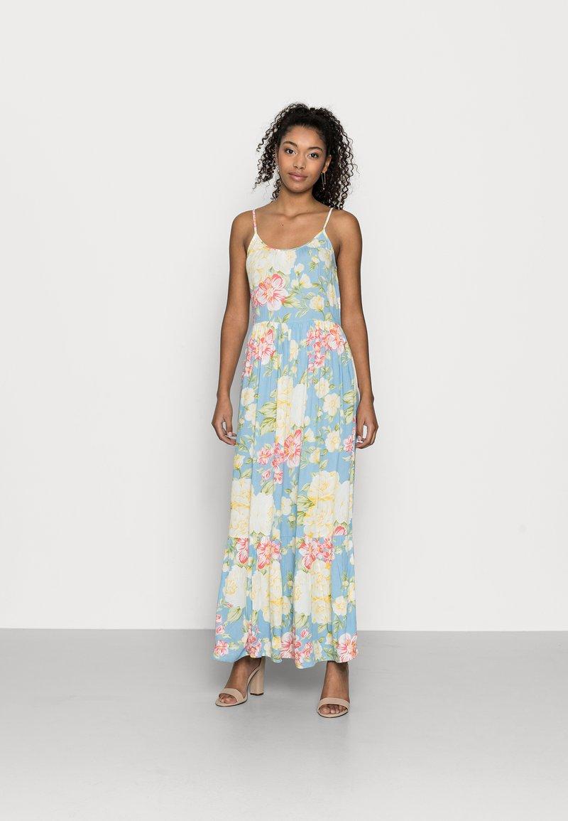 VILA PETITE - VIMESA STRAP MAXI DRESS - Maxi dress - cashmere blue